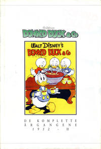 Cover Thumbnail for Donald Duck & Co De komplette årgangene (Hjemmet / Egmont, 1998 series) #[6] - 1952 del II [1. opplag]