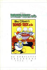 Cover Thumbnail for Donald Duck & Co De komplette årgangene (Hjemmet / Egmont, 1998 series) #[6] - 1952 del 2 [1. opplag]