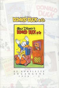 Cover Thumbnail for Donald Duck & Co De komplette årgangene (Hjemmet / Egmont, 1998 series) #[10] - 1954 del 1