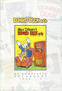 Cover Thumbnail for Donald Duck & Co De komplette årgangene (Hjemmet / Egmont, 1998 series) #[10] - 1954 del 1