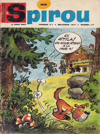 Cover Thumbnail for Spirou (Dupuis, 1947 series) #1531