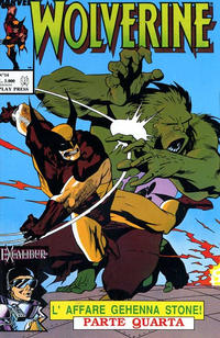 Cover Thumbnail for Wolverine (Play Press, 1989 series) #14