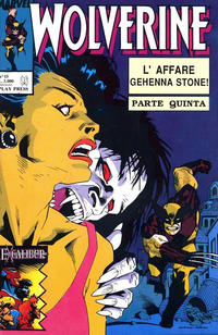Cover Thumbnail for Wolverine (Play Press, 1989 series) #15
