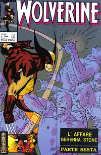 Cover Thumbnail for Wolverine (Play Press, 1989 series) #16