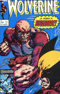 Cover Thumbnail for Wolverine (Play Press, 1989 series) #18