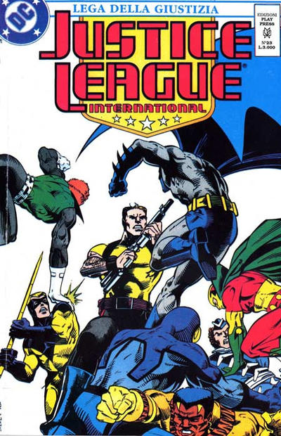 Cover for Justice League [Lega della Giustizia] (Play Press, 1990 series) #23