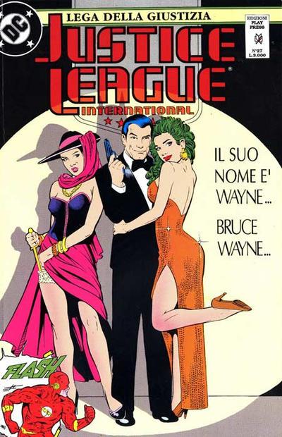 Cover for Justice League [Lega della Giustizia] (Play Press, 1990 series) #27