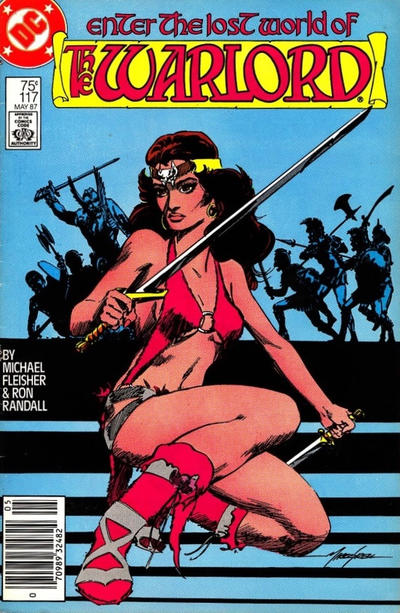 Cover for Warlord (DC, 1976 series) #117 [Direct Sales]