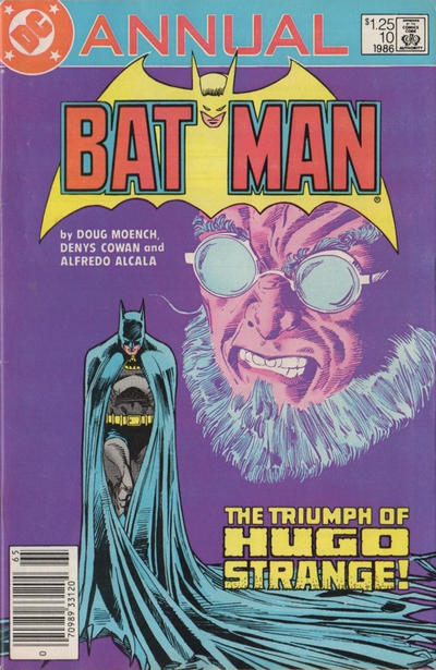 Cover for Batman Annual (DC, 1961 series) #10 [Direct Sales]