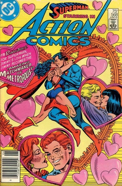 Cover for Action Comics (DC, 1938 series) #568 [Direct]