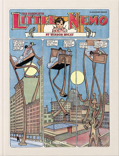 Cover for The Complete Little Nemo (Taschen, 2014 series)