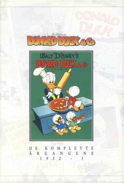 Cover for Donald Duck & Co De komplette årgangene (Hjemmet / Egmont, 1998 series) #[5] - 1952 del I [1. opplag]