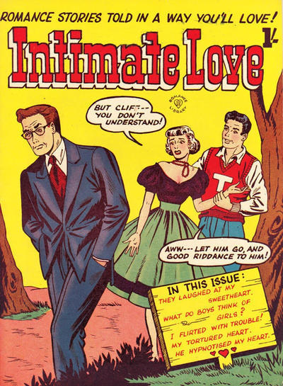 Cover for Romance Library (Magazine Management, 1951 ? series) #25