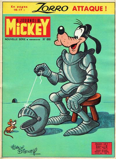 Cover for Le Journal de Mickey (Hachette, 1952 series) #690