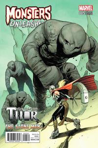 Cover Thumbnail for Monsters Unleashed (Marvel, 2017 series) #5 [Classic Monster vs Marvel Hero Variant]
