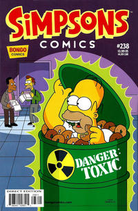 Cover Thumbnail for Simpsons Comics (Bongo, 1993 series) #238