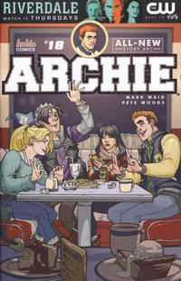Cover Thumbnail for Archie (Archie, 2015 series) #18 [Cover A - Pete Woods]