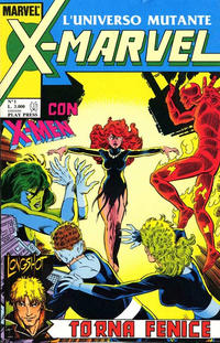 Cover Thumbnail for X-Marvel (Play Press, 1990 series) #1