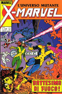 Cover Thumbnail for X-Marvel (Play Press, 1990 series) #2