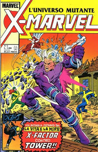 Cover Thumbnail for X-Marvel (Play Press, 1990 series) #3