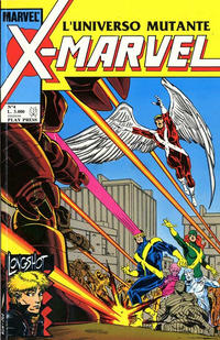 Cover Thumbnail for X-Marvel (Play Press, 1990 series) #4