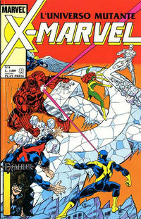 Cover Thumbnail for X-Marvel (Play Press, 1990 series) #8