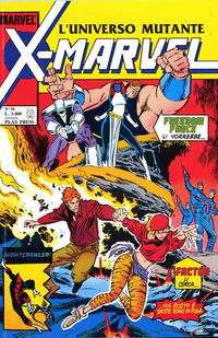 Cover Thumbnail for X-Marvel (Play Press, 1990 series) #10