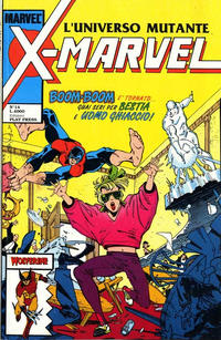 Cover Thumbnail for X-Marvel (Play Press, 1990 series) #14