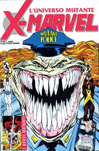 Cover Thumbnail for X-Marvel (Play Press, 1990 series) #35