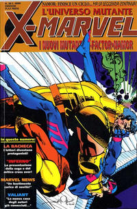 Cover Thumbnail for X-Marvel (Play Press, 1990 series) #38