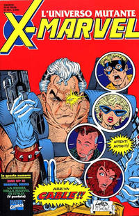 Cover Thumbnail for X-Marvel (Play Press, 1990 series) #44