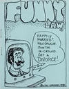 Cover for Funny Law (Clay Geerdes, 1980 series)