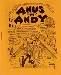 Cover Thumbnail for Anus 'n' Andy (Clay Geerdes, 1979 ? series)