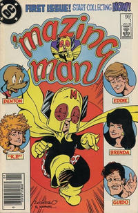 Cover for 'Mazing Man (DC, 1986 series) #1 [Direct Sales]
