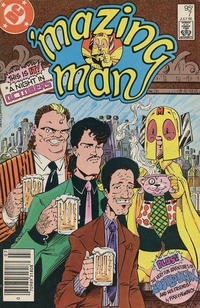 Cover for 'Mazing Man (DC, 1986 series) #7 [Direct Sales]