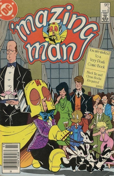 Cover for 'Mazing Man (DC, 1986 series) #3 [Direct Sales]