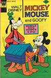 Cover for Mickey Mouse (Western, 1962 series) #167 [Whitman]