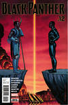 Cover for Black Panther (Marvel, 2016 series) #12