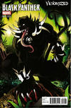 Cover for Black Panther (Marvel, 2016 series) #12 [Venomized Variant]