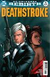 Cover for Deathstroke (DC, 2016 series) #15 [Shane Davis / Michelle Delecki Cover]
