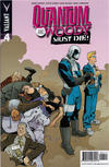Cover for Quantum and Woody Must Die! (Valiant Entertainment, 2015 series) #4 [Cover A - Mike Hawthorne]