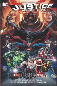 Cover for Justice League (DC, 2012 series) #8 - The Darkseid War Part 2