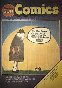 Cover Thumbnail for Sunday Sun Comics (Toronto Sun, 1977 series) #v3#2