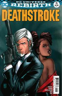 Cover Thumbnail for Deathstroke (DC, 2016 series) #15 [Shane Davis Cover Variant]