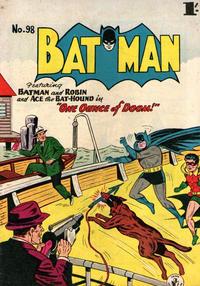 Cover Thumbnail for Batman (K. G. Murray, 1950 series) #98