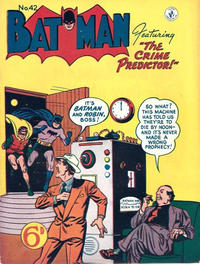 Cover Thumbnail for Batman (K. G. Murray, 1950 series) #42