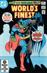 Cover Thumbnail for World's Finest Comics (DC, 1941 series) #283 [Direct Sales]