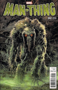 Cover for Man-Thing (Marvel, 2017 series) #2 [Incentive Mike Deodato Jr. Variant]