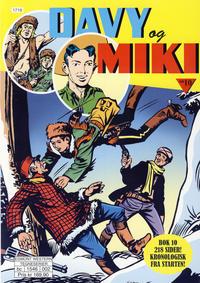Cover Thumbnail for Davy og Miki (Hjemmet / Egmont, 2014 series) #10