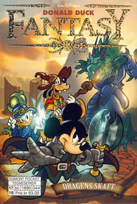 Cover Thumbnail for Donald Duck Fantasy (Hjemmet / Egmont, 2017 series) #2 - Dragens skatt